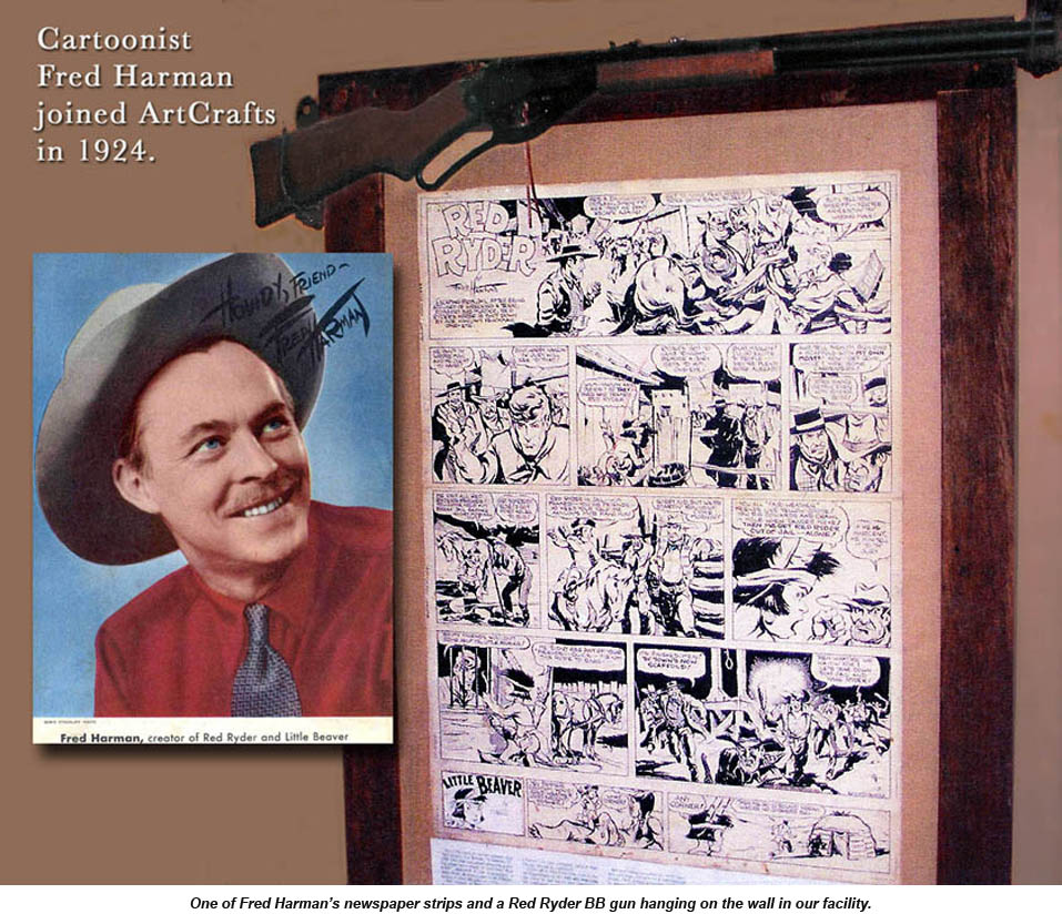 Fred Harman, creator of Red Ryder comic